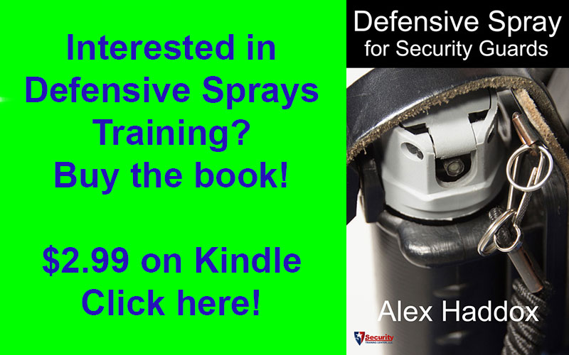 Defensive Spray Kindle Book